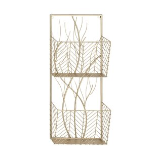 Stoller Modern 2-Tier Tree Branch Wall Shelf by Latitude Run