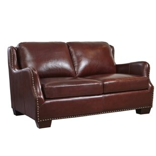 Milligan Leather Loveseat