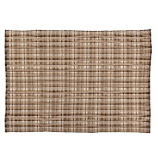 Beacon Plaid Chocolate Indoor/Outdoor Area Rug