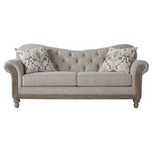 Compare & Buy Larrick Fabric Tufted Standard Sofa by Ophelia & Co. Reviews (2019) & Buyer's Guide