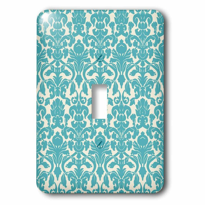 3drose Damask 1 Gang Toggle Light Switch Wall Plate Wayfair