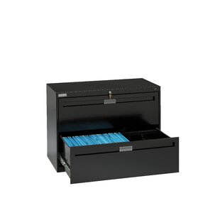 2-Drawer Lateral filing cabinet by Tennsco Corp.