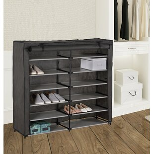 36 Pair Shoe Rack Rebrilliant