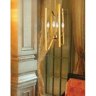 Z-Lite Fawcett 4-Light Geometric Chandelier