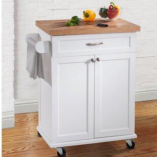 Haller Kitchen Cart by August Grove