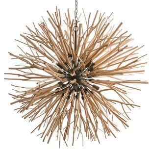 ARTERIORS Home Finch Starburst 8-Light Globe Chandelier