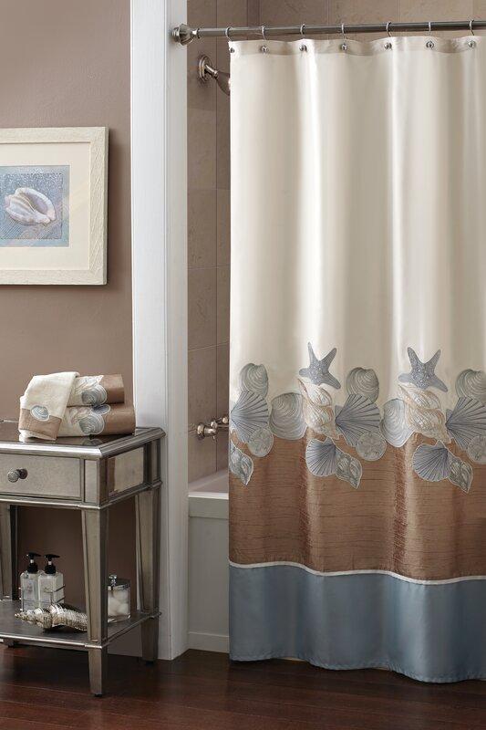 Shells Ashore Shower Curtain from Wayfair!