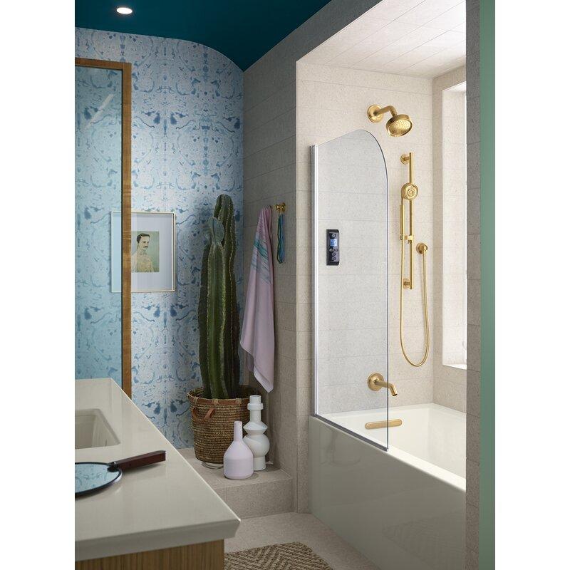 Kohler Underscore 60 X 30 Alcove Soaking Bathtub Reviews Wayfair