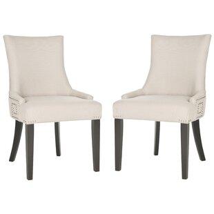 Mcdaniel Upholstered Wood Side Chair (Set..