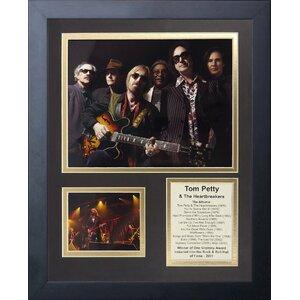 Tom Petty and The Heartbreakers Framed Memorabilia
