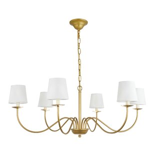 Goin 6-Light Shaded Chandelier by Charlton Home