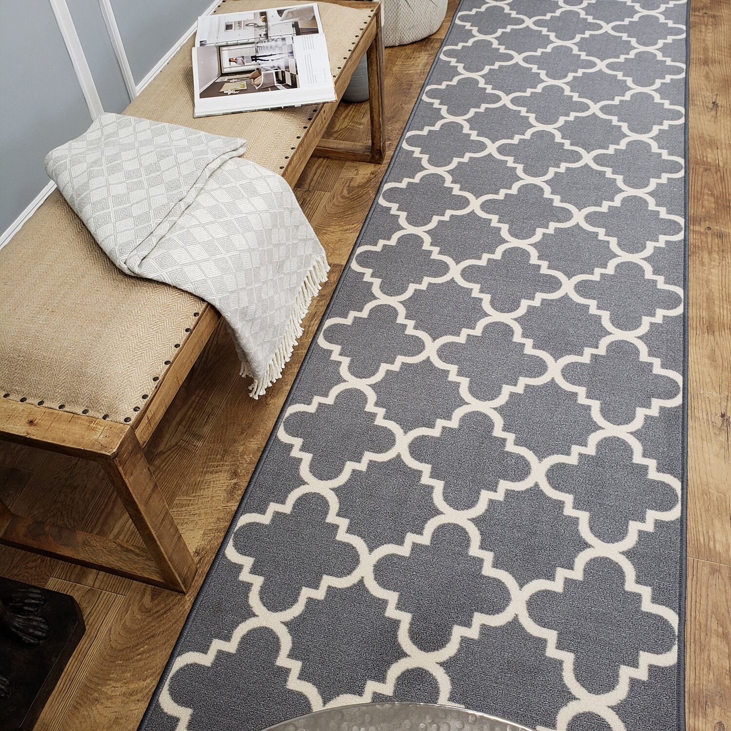 Rubber Backed Throw Rugs Wayfair