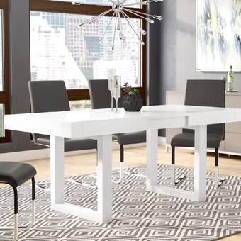 Orren Ellis Marissa Expandable Dining Table & Reviews | Wayfair