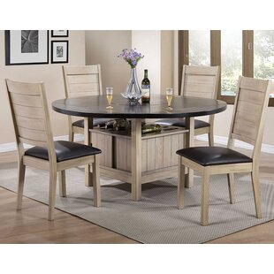 Spicer Extendable Dining Table Loon Peak