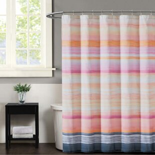 Sunset Stripe Shower Curtain by Christian Siriano