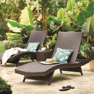 Mercury Row Colletti 3 Piece Chaise Lounge Set