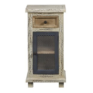 Cosby 1 Door Accent Cabinet by Highland Dunes