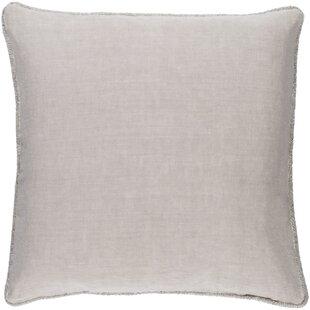 Sera 100% Linen Throw Pillow Cover