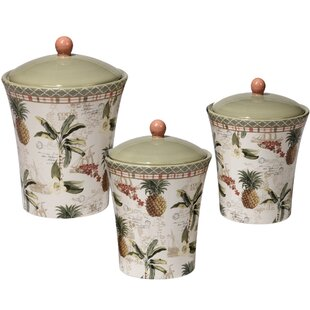 Mallie 3 Piece Canister Set