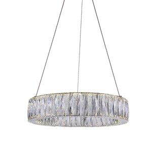CWI Lighting Juno 1-Light LED Pendant