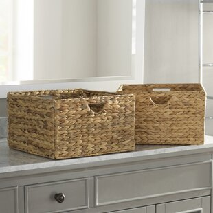 Hyacinth Wicker Basket (Set of 2)