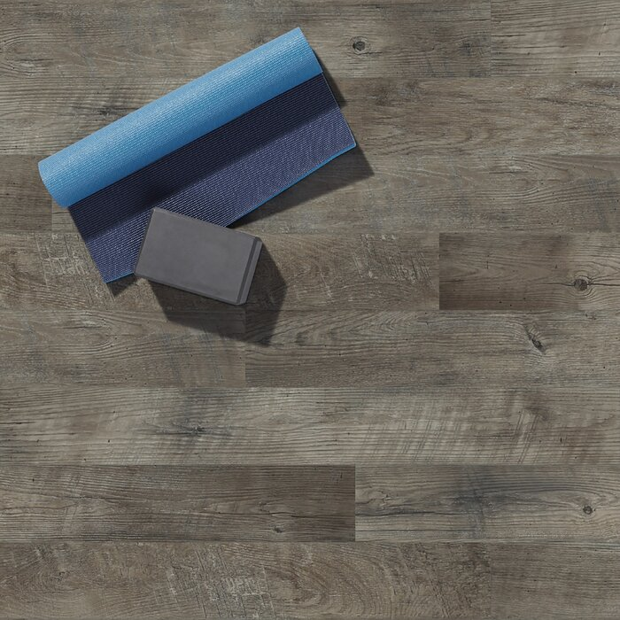 Adura Max Dockside Driftwood 8mm x 6 x 48 Engineered Vinyl Flooring SAMPLE
