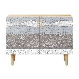 Moultrie 2 Door Cabinet by Orren Ellis