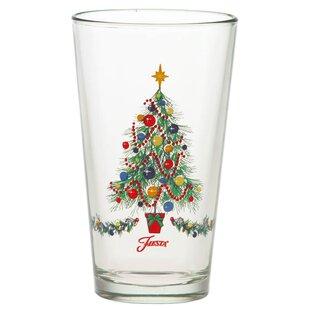 Christmas 16 Oz. Everyday Glass (Set of 4)