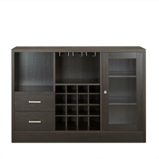 Merkel Rustic Serving Accent Cabinet by Ebern Designs