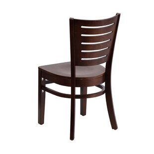 Aoife Solid Wood Dining Chair Ebern Designs