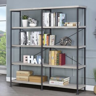 Williston Forge Mccaleb Industrial Etagere Bookcase