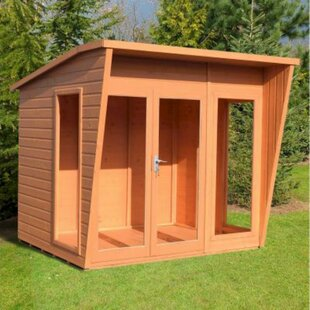 FisSummer Househburne 7.5 X 6 Ft. Shiplap By Sol 72 Outdoor