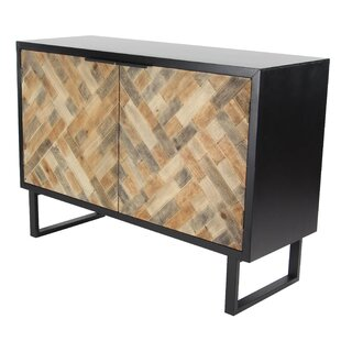 Cholet Modern Weave-Style 2 Door Accent Cabinet by Bloomsbury Market