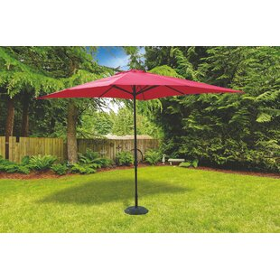 Aluminium And Polyester 3m Traditional Parasol By Galileo