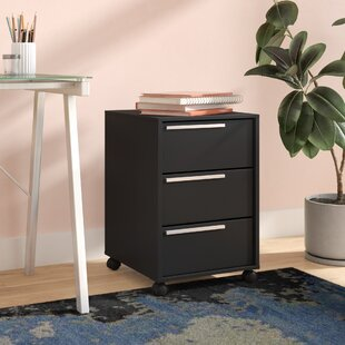 Comerfo 3 Drawer Vertical Filing Cabinet by Ebern Designs Best #1