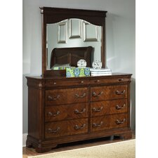 Abe 8 Drawer Dresser with Mirror by Darby Home Co