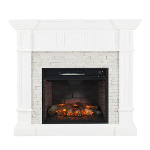 Fireplace  Mantel Packages Youll Love Wayfair - Corner fireplaces electric