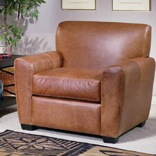 Jackson Leather Armchair by Omnia Leather