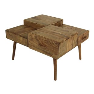 Jaquelin Coffee Table With Storage By Union Rustic