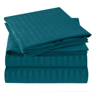 Hisle Stripe Microfiber Sheet Set