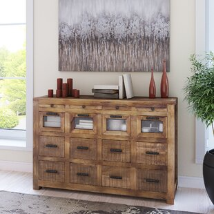 Anatole Craftsman 12 Drawer Sideboard Loon Peak