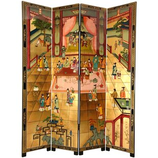 Bloomsbury Market Runge Dream of the Red Chamber 4 Panel Room Divider