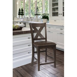 Balster Spencer Bar Stool (Set of 2) Gracie Oaks