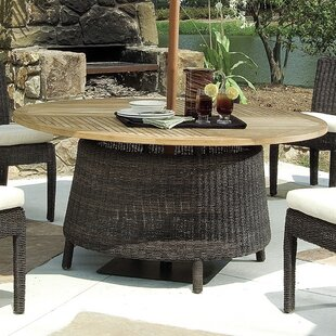 Outdoor Bay Harbor Solid Wood Dining Tabl..