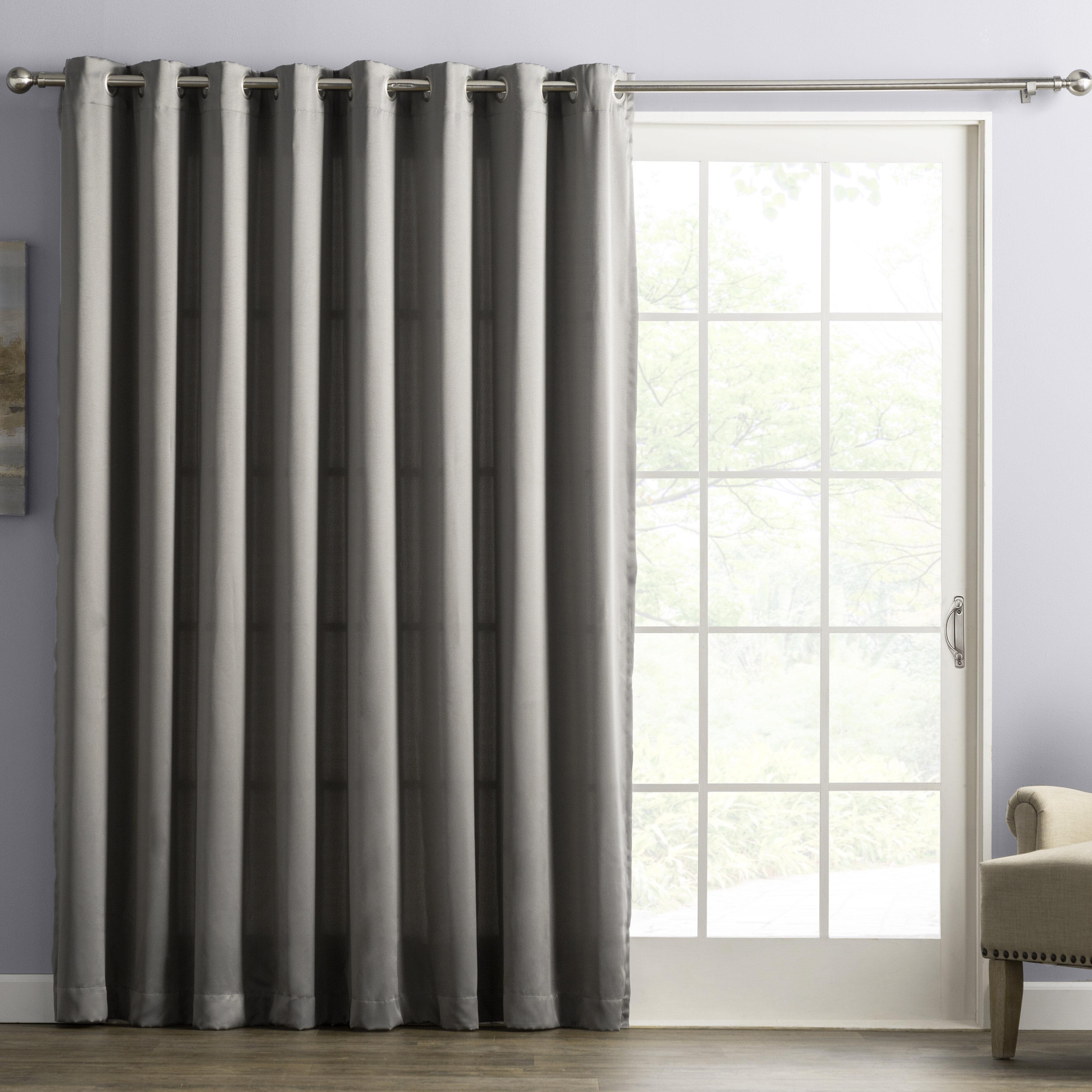 Wayfair Basics Solid Room Darkening Thermal Grommet Single Curtain Panel Reviews Wayfair