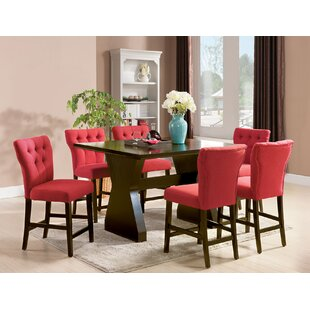 Meyersdale 6 Piece Counter Height Dining Set DarHome Co