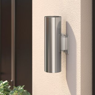 Arjun 2-Light Outdoor Sconce by Wade Logan