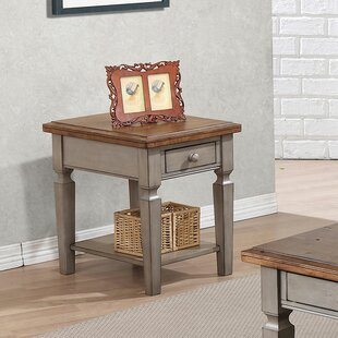 Murtaugh End Table With St..