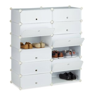 24 Pair Shoe Cabinet By Symple Stuff
