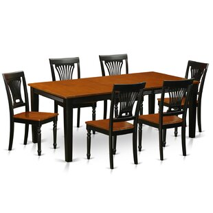 Loraine 7 Piece Dining Set Red Barrel Studio